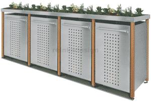 Monsterbox mit Lärchenholzpfosten