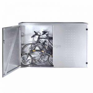 fahrradboxen edelstahl